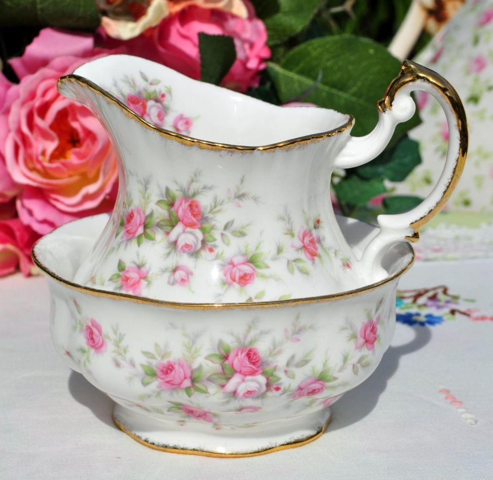 Paragon Victoriana Rose Milk Jug and Sugar Bowl