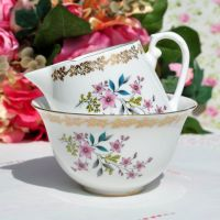 Royal Grafton Vintage Creamer and Sugar Bowl c.1957+