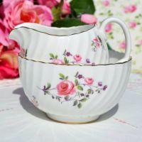 Royal Adderley Fragrance Milk Jug and Sugar Bowl