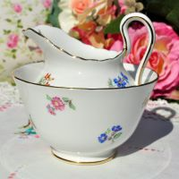 New Chelsea Scattered Flowers Milk Jug and Sugar Bowl