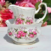 Royal Albert Lavender Rose Small Milk Jug and Sugar Bowl