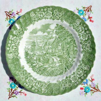 British Anchor Memory Lane Dinner Plate