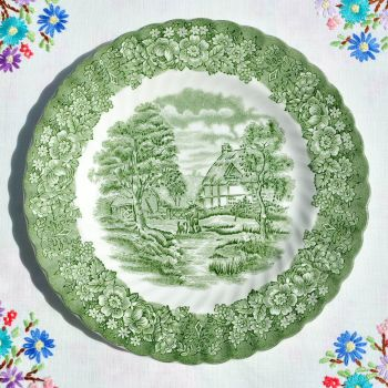 British Anchor Memory Lane 20cm Salad Plate