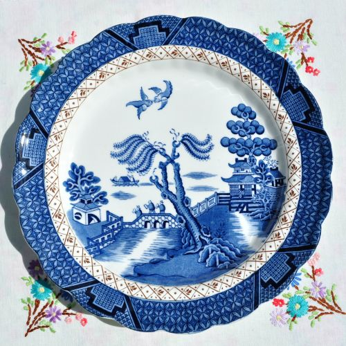 Booths Real Old Willow Dinner Plate c.1930's