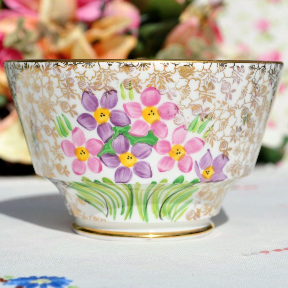 Phoenix China Art Deco Sugar Bowl c.1930's
