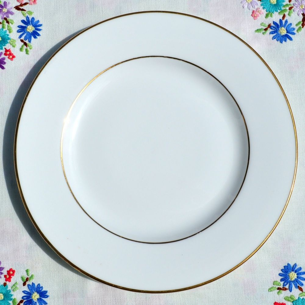 Signature Gold Bone China 20cm Plate