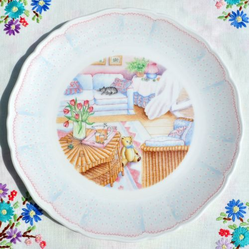 Royal Doulton Brinkworth Bear 8.5 Inch Collectors Plate