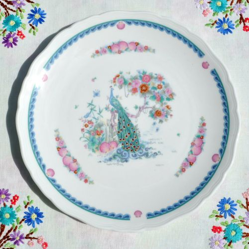 Royal Doulton Indian Summer H.5157 China 8.5 inch Plate