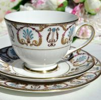 Royal Grafton Regency Teacup Trio c.1970s