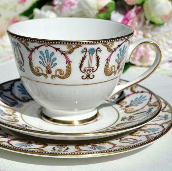 Royal Grafton Regency Jewel Colours Teacup Trio