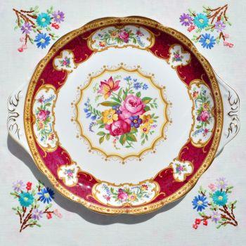 Royal Albert Lady Hamilton Cake Plate c.1960's