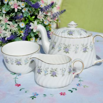 Minton Alpine Spring Tea For Two Tea Set