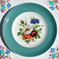 Purbeck Ceramic Floral Cabinet Plate