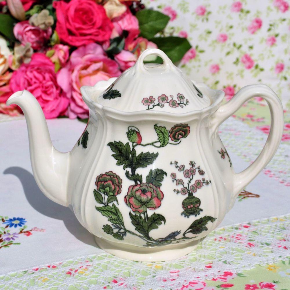 Wedgwood Mandarin Creamware 1.5 Pint Teapot