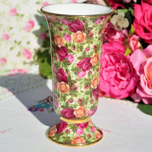Royal Albert Old Country Roses Chintz 15.5cm Vase