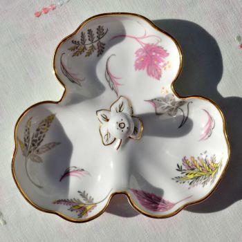 Tuscan Windswept Vintage Clover Leaf Dish c.1947+