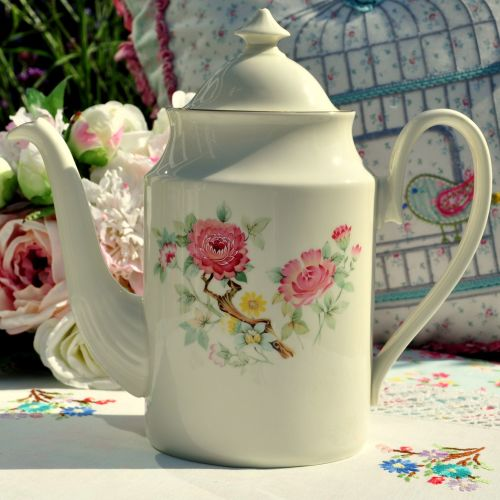 Royal Kent 2 Pint Tall Bone China Teapot