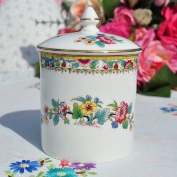 Coalport Ming Rose Preserve Pot