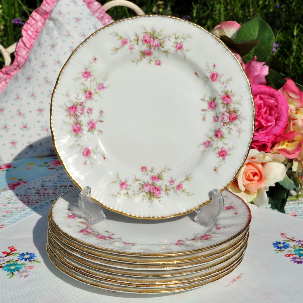 Paragon Victoriana Rose 20.5 cm Plate c.1960's