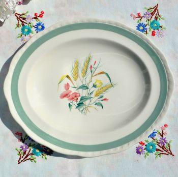 Alfred Meakin Harvest Pattern Oval Platter c.1940's