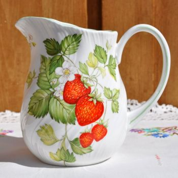 Queen's Virginia Strawberry One Pint Jug