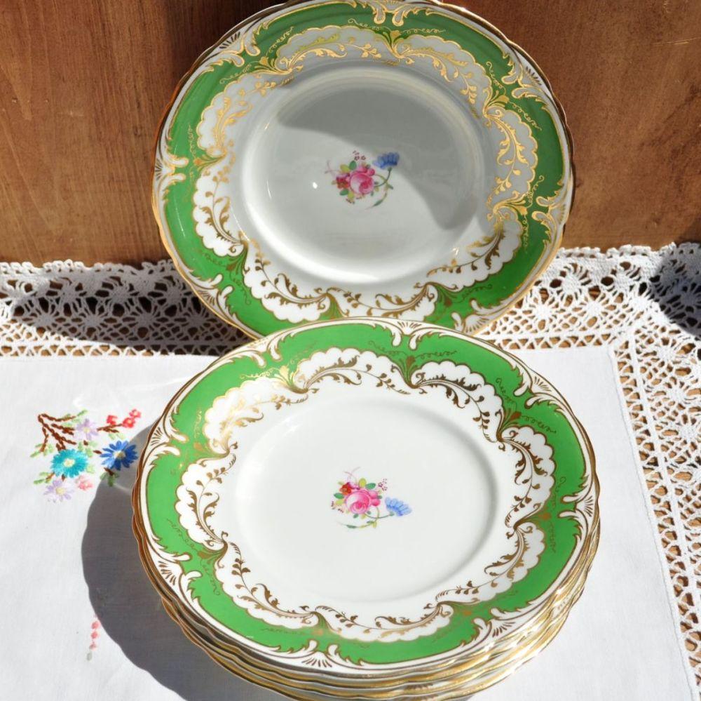 Bishop and Stonier Decorative Sandwich Plates Set