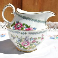 Duchess Nanking Milk Jug and Sugar Bowl