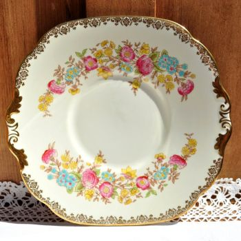 Collingwood Hand Painted Cake Serving Plate