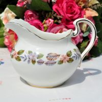 Aynsley April Rose Cream Jug or Sauce Boat