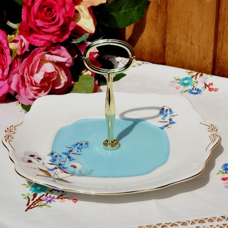 Royal Albert Festival 1950's Style Handled Cake Plate