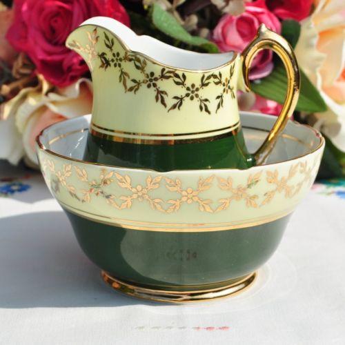 Stanley Princess Pattern Milk Jug and Sugar Bowl