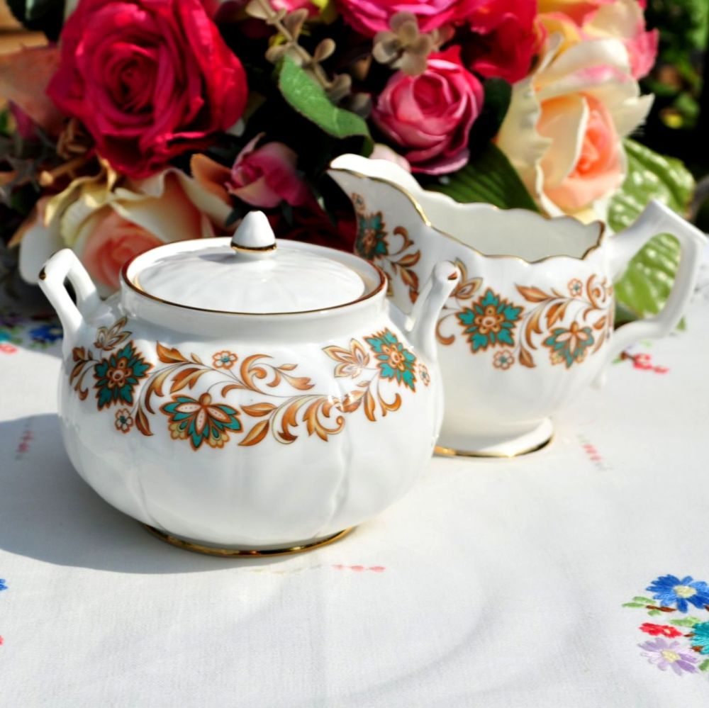 Classic Milk Jug and Lidded Sugar Bowl