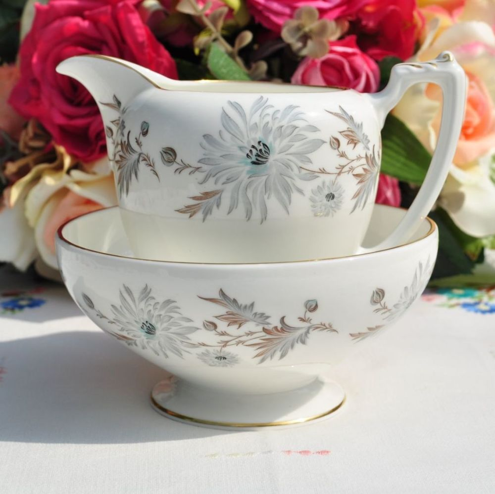 Coalport My Fair Lady Pattern Milk Jug and Sugar Bowl