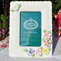 Minton Fife Floral Collection Bone China Picture Frame