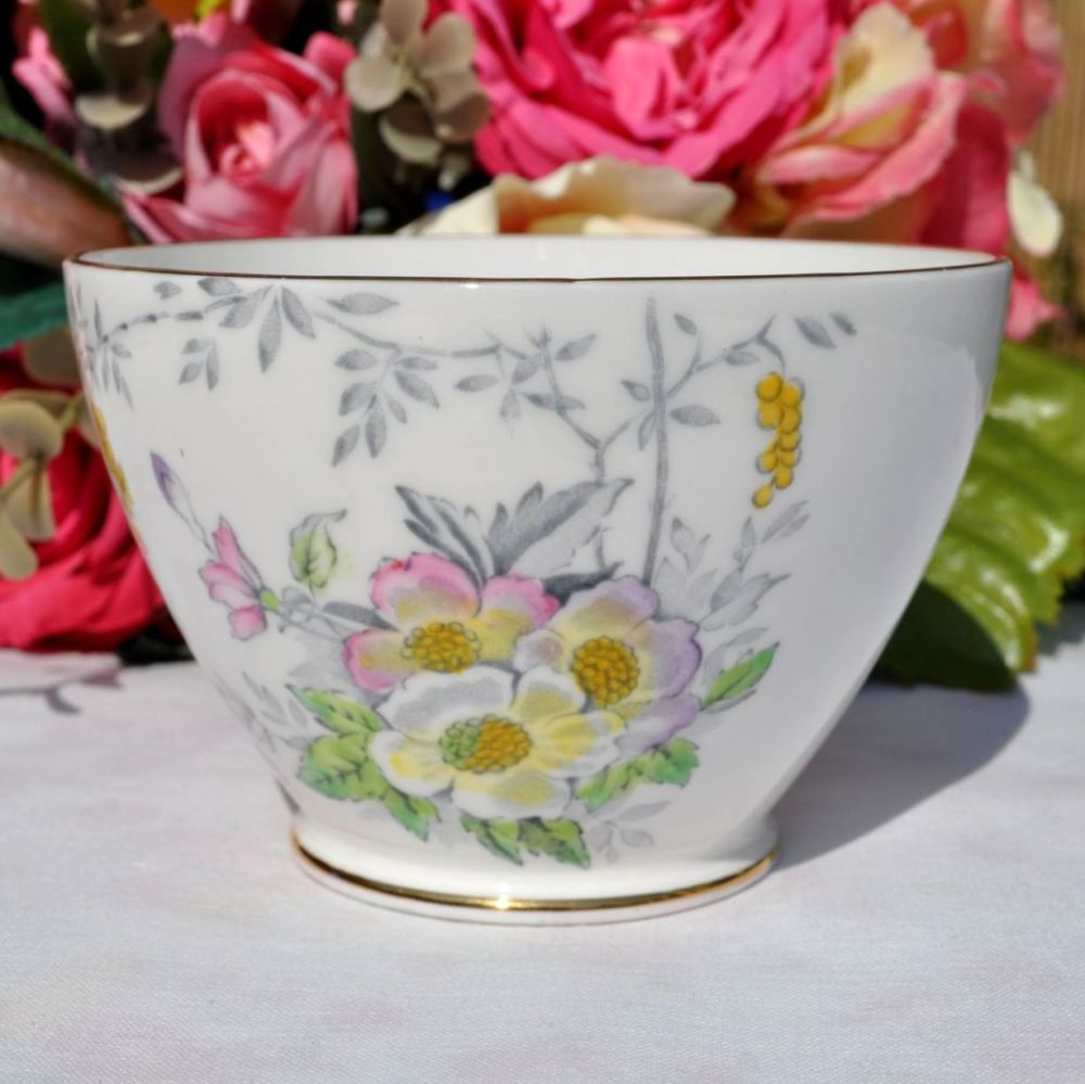 Old Royal Floral Sugar Bowl c.1950s