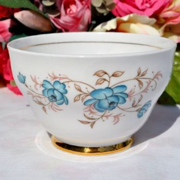 Windsor Duck Egg Blue Roses Sugar Bowl