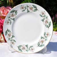 Crown Staffordshire Pear Blossom 21cm Salad Plate