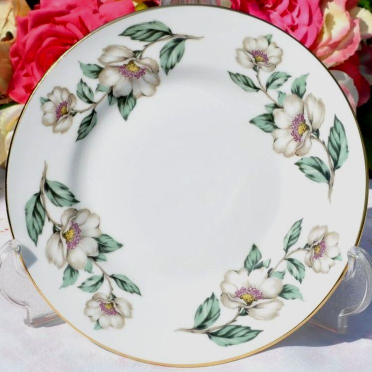 Crown Staffordshire Pear Blossom Tea Plate