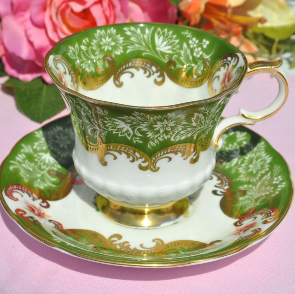 Paragon Trenton Vintage Teacup and Saucer c.1950s