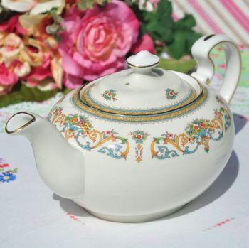 Aynsley Henley Pattern Vintage Fine Bone China Large Teapot