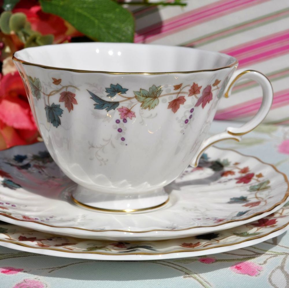 Royal Doulton Canterbury Vintage Teacup Trio