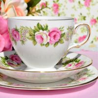 Colclough Enchantment Teacup Trio