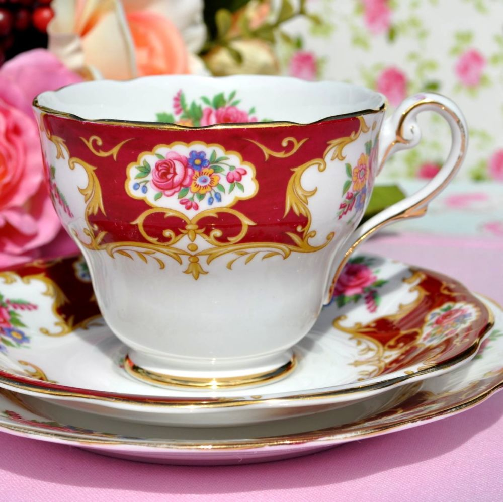 Royal Standard Lady Fayre Vintage Tea Trio