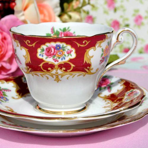 Royal Standard Lady Fayre Vintage Tea Trio