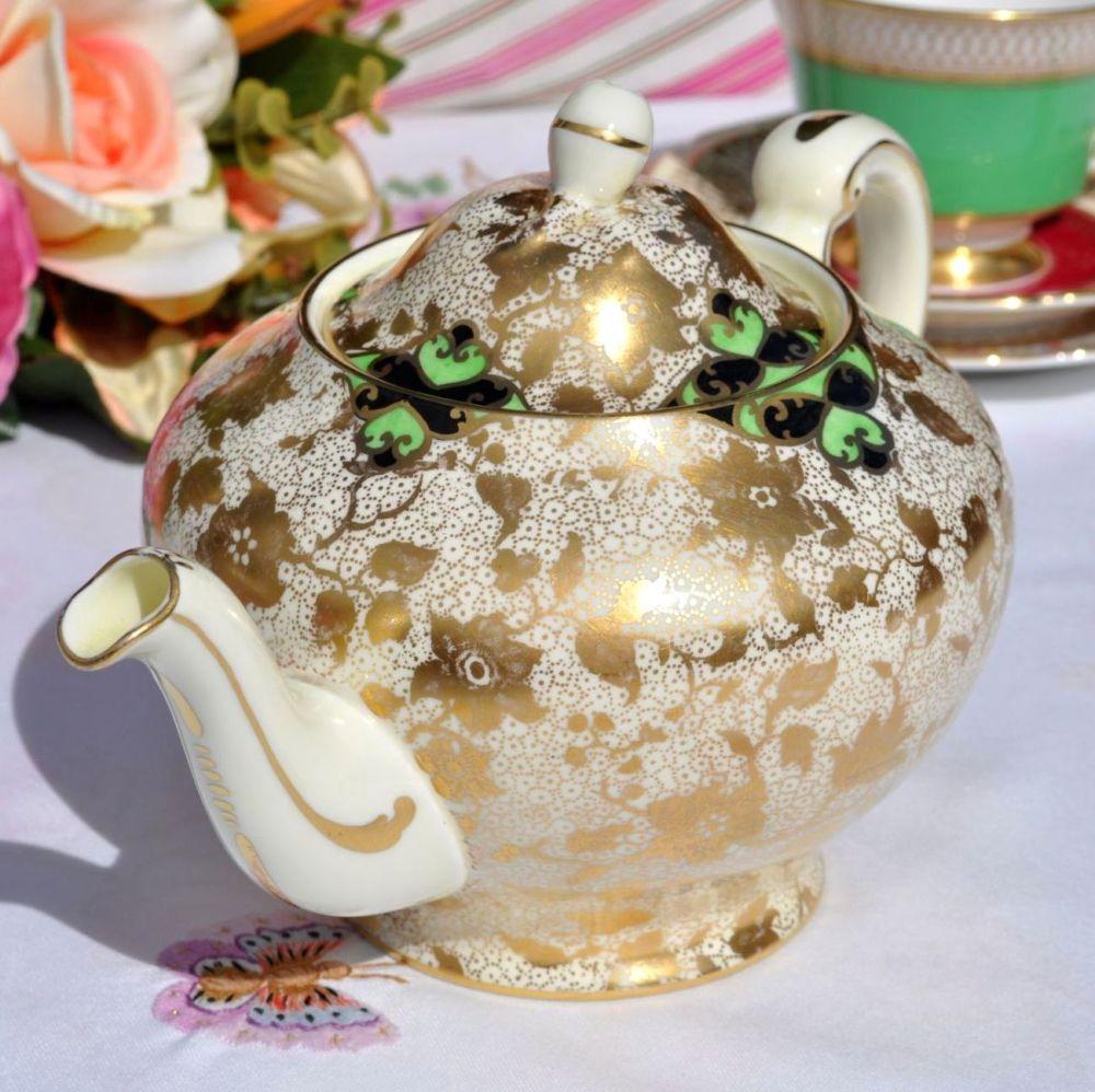 Tuscan Gold Teapot c.1936+