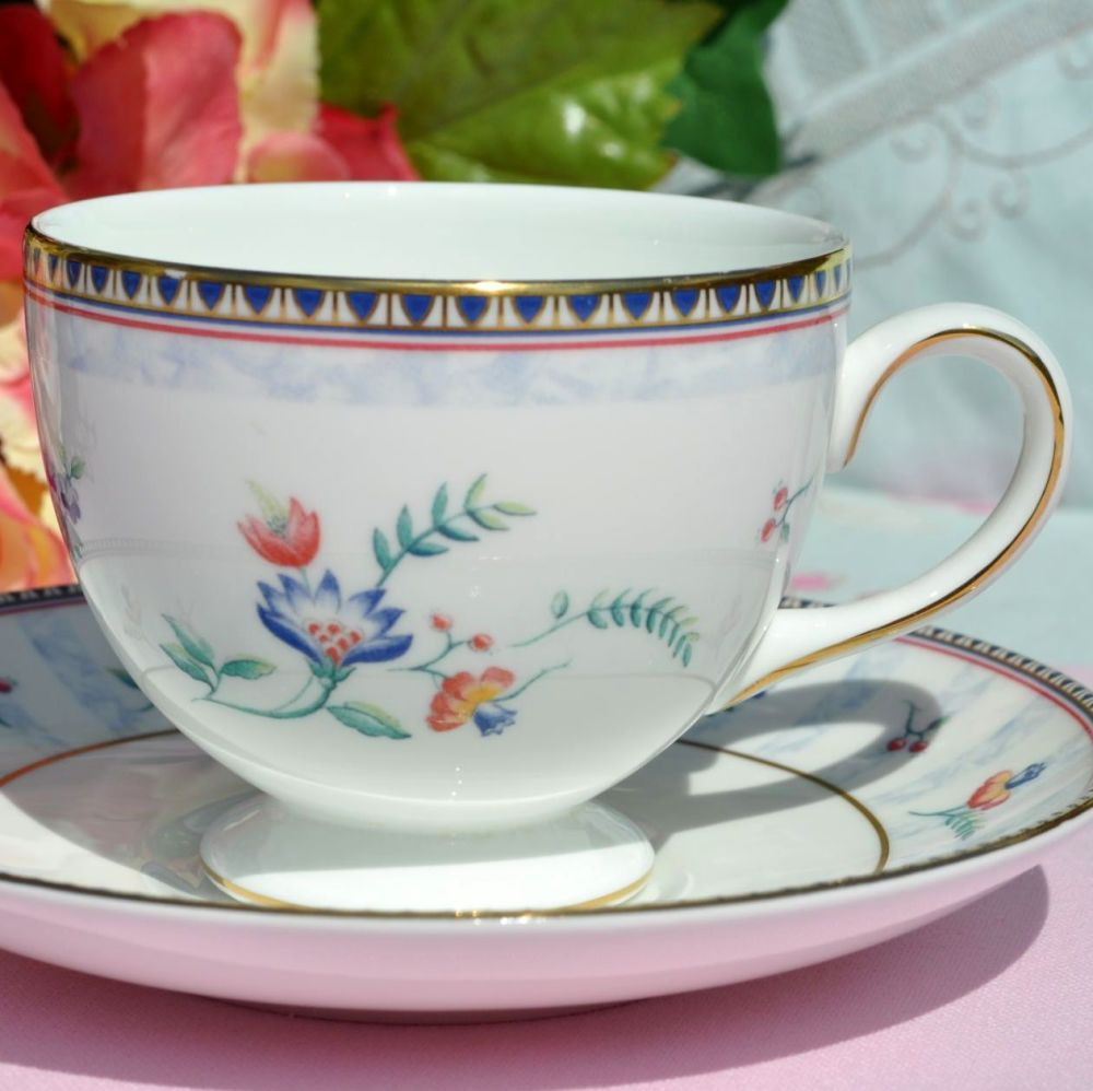 Wedgwood Sunburst Bicentenary Celebration Teacup and Saucer