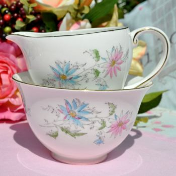 Royal Grafton Summer's Day Milk Jug and Sugar Bowl c.1960s