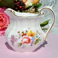 Royal Crown Derby Posies Pattern Half Pint Milk Jug c.1986