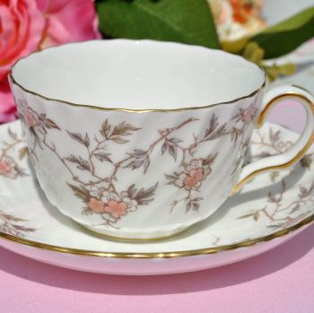 Minton Suzanne S-710 Pattern Teacup and Saucer c.1950's