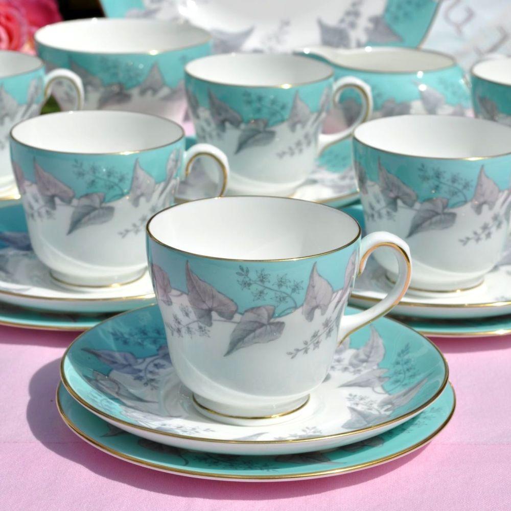 Wedgwood Buxton W4131 tea set for six